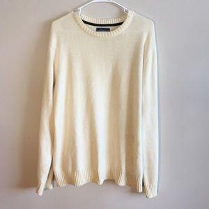 Covington pullover off-white sweater